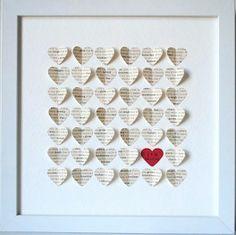 Heart Art for Valentine's Day