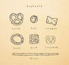 pretzels.