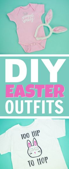 Today I want to show you three adorable DIY Easter Outfits With Your Cricut for all ages! You will love these ideas. I hope they inspire you to get creative. #Easter #eastercrafts #diy #cricut #diecutting #diycricut #diycricutprojects #cricutideas #diycricutprojects #cricutprojects #cricutcraftideas