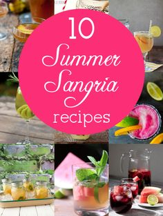 10 Outrageously Delicious and Creative Sangria Recipes for Summer