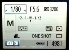 How To Shoot in Manual Mode for Beginners  SO NEED THIS!!!