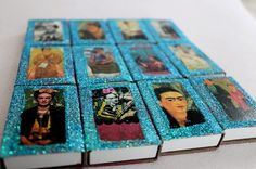 Frida Kahlo Mexican Party Favors  Handmade Empty by DosBorreguitas, $24.00