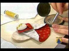 A artesã Santina Reale ensina a fazer um lindo anjinho para a sua árvore de natal o programa SABOR DE VIDA da REDE APARECIDA. Você em boa companhia www.A12.c...