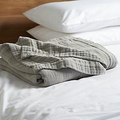 Breezy Grey Blanket