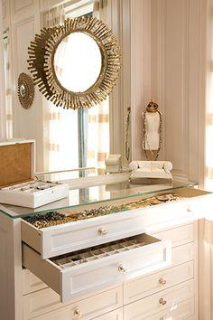<3 Organizing your closet.