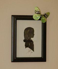 silhouett, decor crafts, craft projects, kid