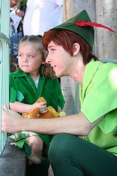 Peter Pan speiling Peter!!!! This man is one of the main reasons Peter Pan I my favorite Disney character!!!!
