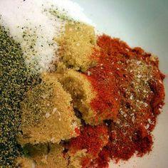 Dry rub recipe