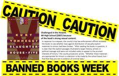 ban book, slaughterhous