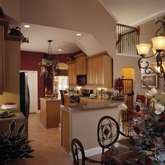 Delightful Kitchen - Plan 047D-0211 | houseplansandmore.com  #kitchen #interiordesign