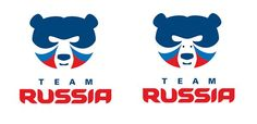 Love this! With just 2 tiny dots you can transform the team Russia winter olympics logo from a stern looking bear into a happy dog with funky hair.  Many thanks to Warren Chrismas for this.   #Sochi2014 #WinterOlympics