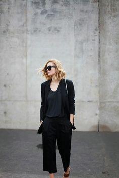 All black // themuse.com
