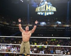 John Cena at Royal Rumble, Pheonix, AZ, 2013 by John Giamundo #WWE