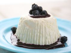 Frozen Lemon Whip with Blueberry Sauce from FoodNetwork.com