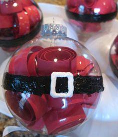christmas crafts, crafti, belli ornament, santa belli, christmas ornaments, ornament craft, christma craft, diy, craft ideas