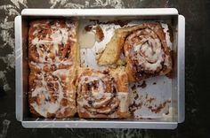 cream cheese cinnamon rolls (: