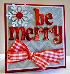By Lisa Young - Myprincess-peaches Blogspot: Christmas Cards: Week 1 #cardmaking christmas cards, christma card, merri card