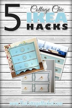 5 Cottage Chic IKEA HACKS (RAST)