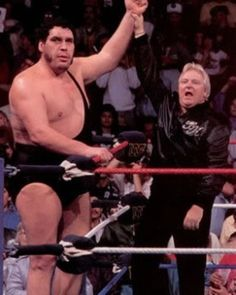 Andre the Giant and bobby heenan