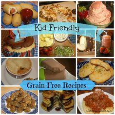 Kid friendly grain free recipes