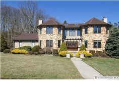 Brick 4 bedroom 2.5 bath Center Hall Colonial home features a wonderful, well-designed layout with 2 zone Ac & 2 zone Ht