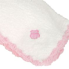 CHENILLE BABY BLANKET PINK