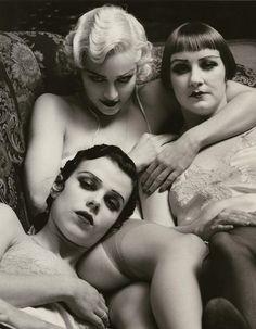 Madonna, Debi Mazar & friend - 1991 - 'Flesh and Fantasy' - Photo by Steven Meisel for Rolling Stone Magazine