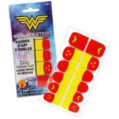 Wonder Woman Nail Art