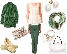 Love this St. Patrick's Day outfit