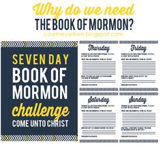 All Things Bright and Beautiful: Come Follow Me: Why do we need the Book of Mormon?