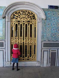 Gold door by stepintomythimble, via Flickr  Turkey