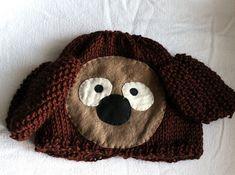 fun stuff, knitted hats, rowlf muppet, the muppets, muppet hat