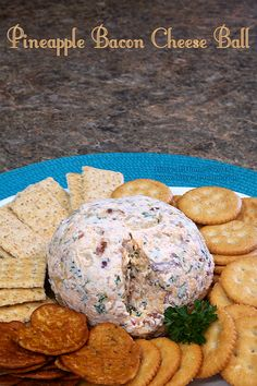 Pineapple Bacon Cheese Ball by Busy-at-Home #KraftRecipes #appetizer #easyrecipe