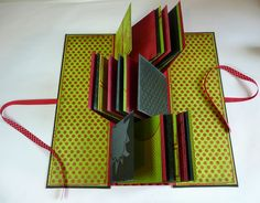 Lift Bridge Cards and Crafts: A flag book for a fabulous vacation