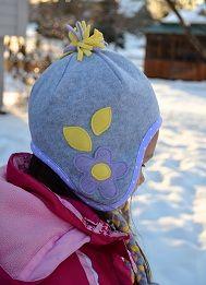 tutorials, idea, bag, ear flap, ears, babi hat, fleece hats, fleec hat, winter hats