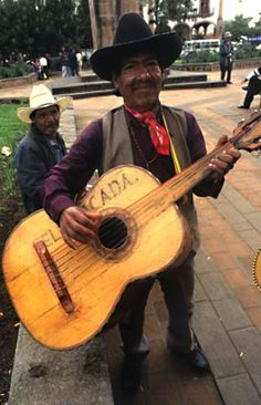 Guitarist, Patzcuaro, Michoacan, 2001  ( Christopher Reynolds / Los Angeles Times )