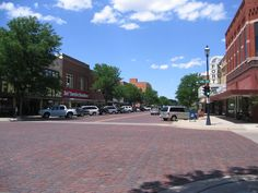 Kearney, Nebraska - old downtown nicknamed The Bricks