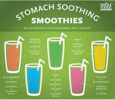 Stomach Soothing Smoothies.