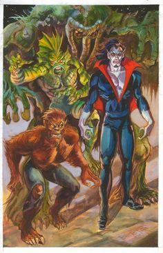 Legion of Monsters Comic Art