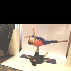 Partner yoga:)