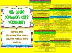 Fourth Grade Common Core Math