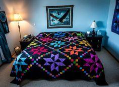 Gorgeous quilt.  Peace, Robert from nancysfabrics.com