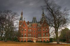 Administration Building; Mercer University in Georgia