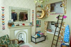 Magical Small Bedroom for Kids - Small Bedroom & Design Ideas (houseandgarden.co.uk)