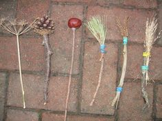 Make your own Autumn Brushes | Pre-school Play