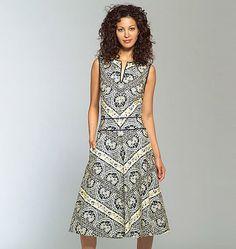 V2900, Misses'/Misses' Petite Dress