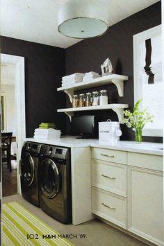 Organized Laundry Room laundry-room