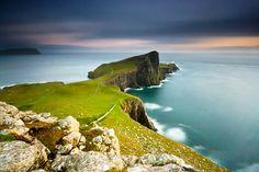 Neist Point, Scotland. By Nicolas Rottiers