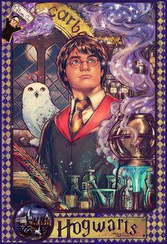 Harry Potter by Adriana Melo *