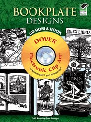 Bookplate Designs CD-ROM and Book